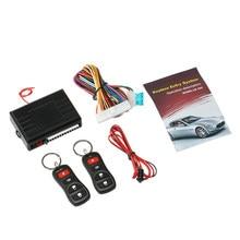 12 V Telecomando Universale di Controllo Centrale Box Kit Serratura Della Porta Auto Sistema Keyless Entry con Pulsante di Rilascio del Tronco Per Tesla modello 3 BMW