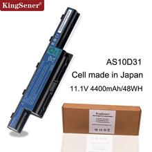 Japanese Cell Original Quality Laptop Battery for Acer 4551 4741 5551 5750 4551G 4741G 4771G 5741G AS10D31 AS10D71 AS10D51 48WH цены онлайн