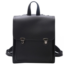 Fashion Pu Leather Backpack Ladies Student Bag Teen Female Quality Children Travel Shoulder