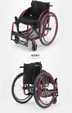 2019 High quality aluminum alloy foldable lightweight manual sports wheelchair