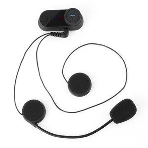 Image 3 - PROSTER için yeni kulaklık Walkie Talkie yumuşak çizgi + klip motosiklet Bluetooth kulaklıklar 800M interkom