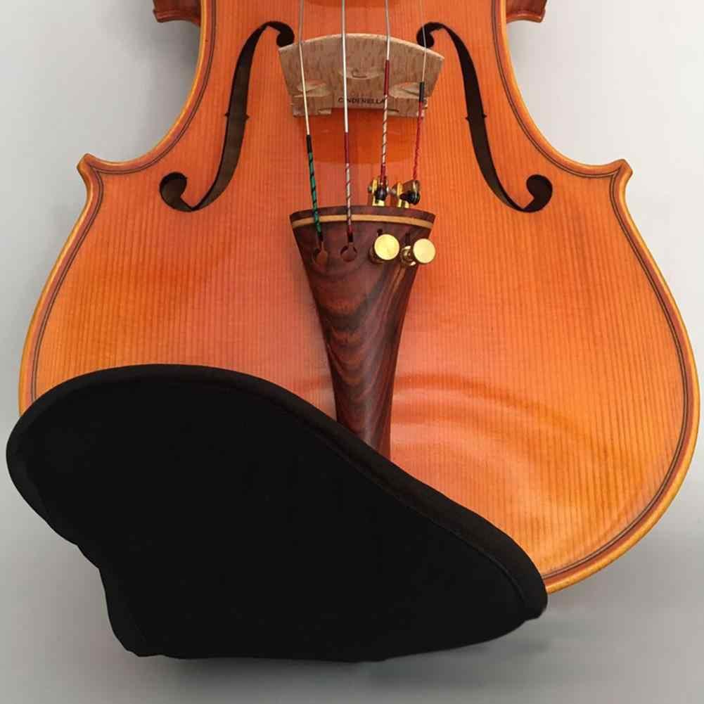 Almohadilla para el descanso de la barbilla para viol/ín Protector de funda de esponja de algod/ón suave Accesorios para instrumentos musicales para violines 3//4 4//4