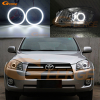For Toyota RAV4 2009 2010 2011 2012 PROJECTOR HEADLIGHT smd led Angel Eyes kit Day Light Excellent Ultra bright illumination DRL