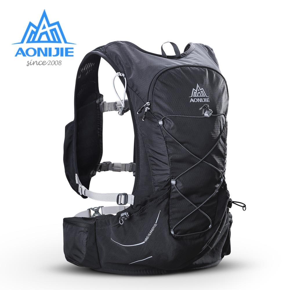 AONIJIE 15L sac à dos d'hydratation en plein air sac à dos avec vessie 2L pour la randonnée Camping course Marathon sacs de sport de course