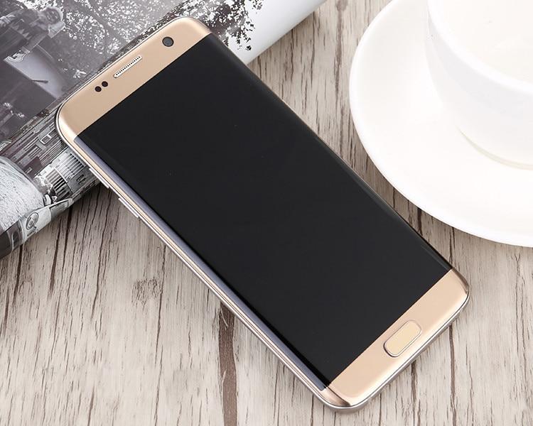 100% Оригинальный разблокированный Samsung Galaxy S7 Edge G935 телефон Американская версия 4G 5,5 дюймов 12,0 МП 4 ГБ ОЗУ 32 Гб ПЗУ, бесплатная доставка