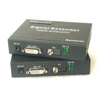 Charmvision EVO 1D DVI волоконно оптической передачи DVI I DVI D 3,5 мм AUX ИК удлинитель трансивер один тип одножильный провод 20 км