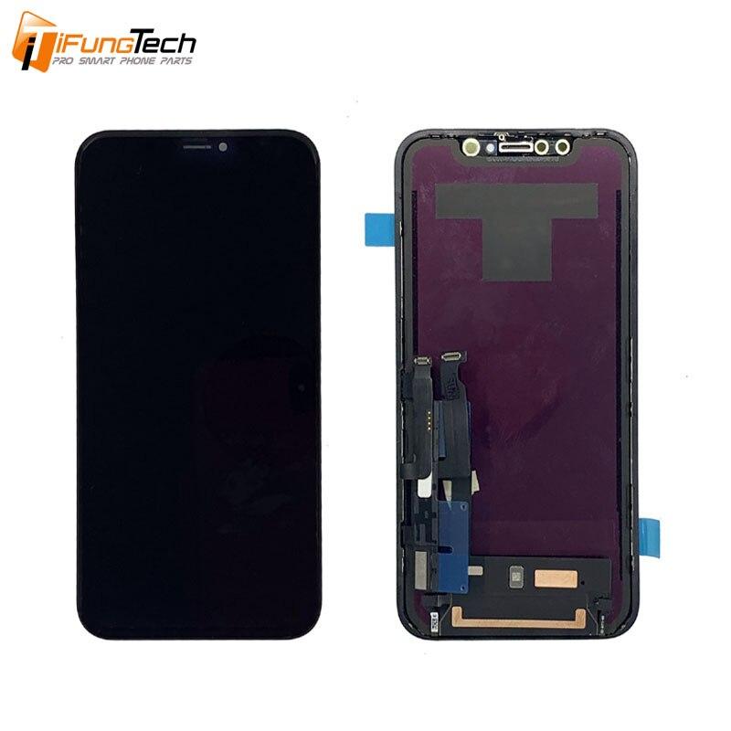 Original Nouveau AMOLED LCD Pour iPhone XS Max XR écran LCD écran tactile Avec remplacement du numériseur pièces d'assemblage Noir