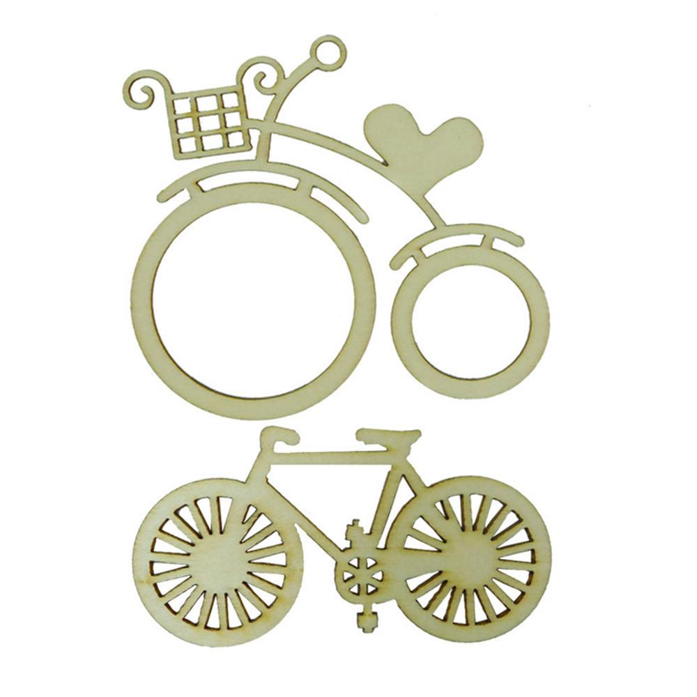 Home & Garden Wind Chimes & Hanging Decorations Liberal 10pcs Wooden Bicycle Bike Cutout Veneers Slices Diy Crafting Ornament For Wedding Engagement Festival Theme Party Cheap Sales 50%