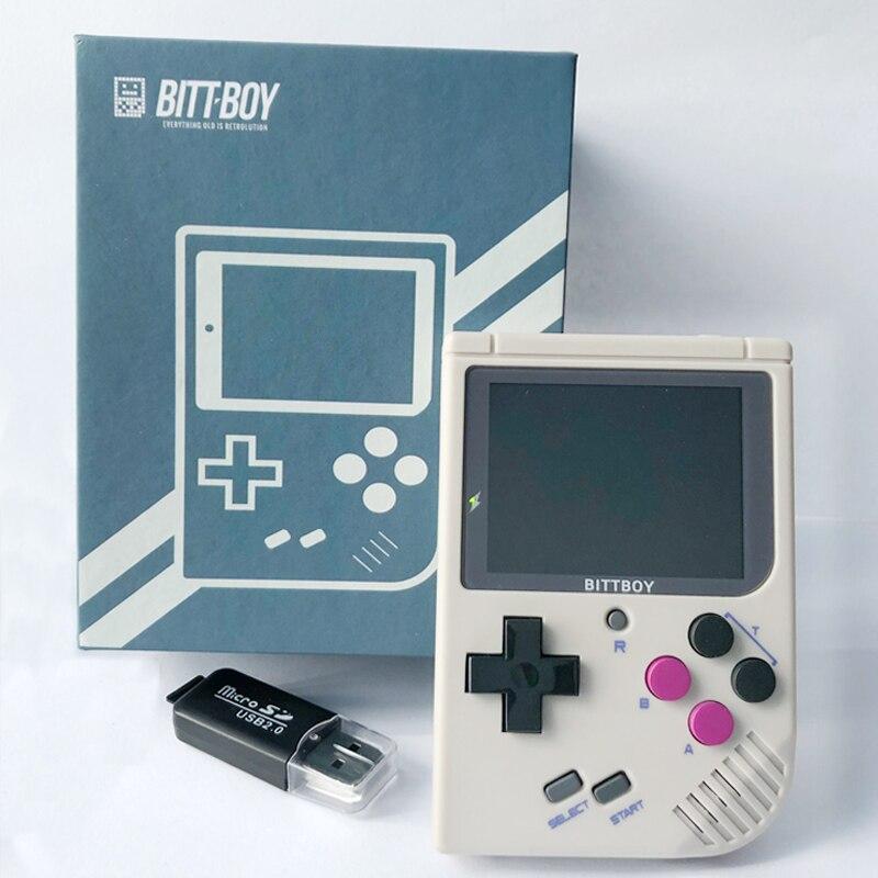 Console de jeu vidéo, BittBoy V3 + 8 GB, console rétro, joueurs de jeu portables, supporte des jeux plus classiques pour les enfants nostalgiques joueur - 3