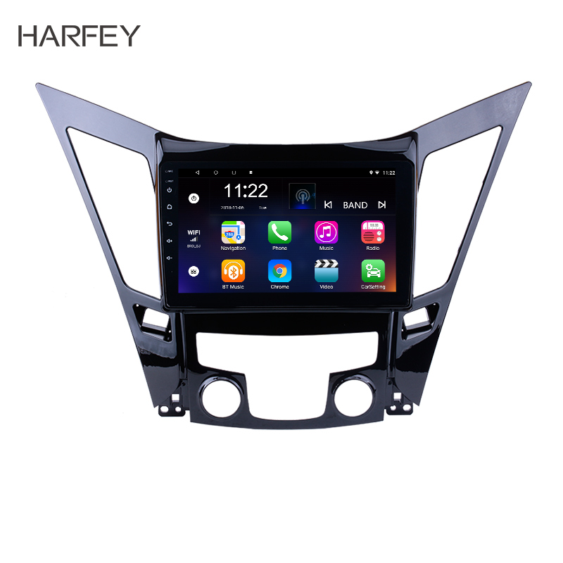 Harfey Car Multimedia Player Radio For 2011 2012 2013 2014 2015 HYUNDAI Sonata i40 i45 Android