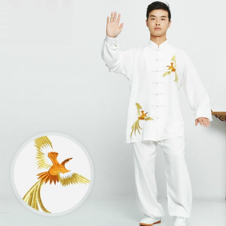 Gold Embroidery Tai Chi Uniform  Traditional Taiji Clothing For Your Tai Chi Exercise  Kung Fu Clothing Unisex Wu Shu Clothing