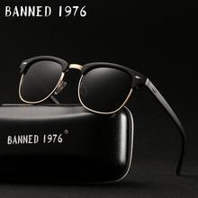 ea403101d UV400 HD Polarized Marca óculos de Sol das mulheres dos homens óculos de Sol  Clássico da moda retro Revestimento Unidade Shades .