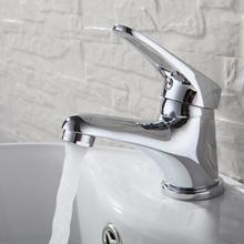 Chrome Plating Bathroom Basin Sink Faucet Cold and Hot Water Tap Accessories torneira do banheiro basin mixer3 Types