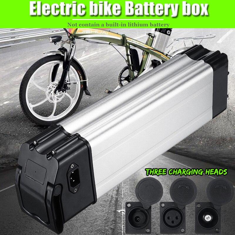 36/48 V voiture électrique vélo Lithium batterie boîte pliant vélo mer batterie boîtier en alliage d'aluminium coque 18650 titulaire couverture