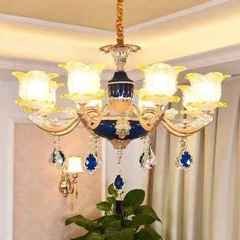 Pendant Hanglampen Loft Decor Nordic Design Kitchen Hang Crystal Suspension Luminaire Lampen Modern Deco Maison Hanging Lamp