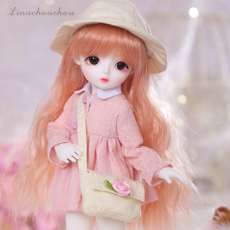 New arrival LinaChouchou Miu Miu lalki BJD SD 1/6 modelu ciała chłopcy dziewczęta Oueneifs wysokiej jakości żywicy zabawki darmowa oczu piłki sklep mody w Lalki od Zabawki i hobby na  Grupa 3