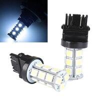 JX-LCLYL 2 stücke T25 3157 18SMD 5050 LED Umge Backup Schwanz Glühbirne Cool White