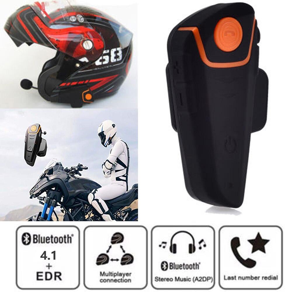 2 Stücke Bt-s2 Pro Motorrad Helm Ipx6 Wasserdicht Intercom Motorrad Drahtlose Bluetooth Headset Wasserdichte Bt Sprech Mit Fm