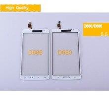 купить 10Pcs/lot For LG G Pro Lite Single SIM D680 Dual D686 Touch Screen Touch Panel Sensor Digitizer Front Glass Outer Touchscreen онлайн