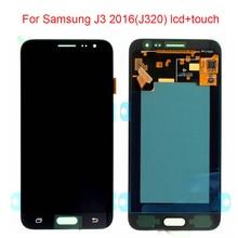JPFix Super AMOLED для Samsung Galaxy J3 J320F ЖК-дисплей сенсорный экран дигитайзер сборка Замена