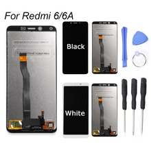 For Xiaomi Mi A2 Lite LCD Display Touch Screen Digitizer Replacement Tools For Xiaomi Redmi 6 Digitizer Assembly Frame