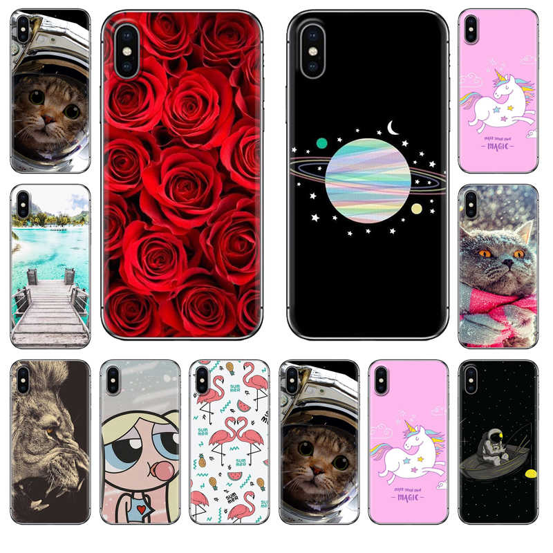 Soft Phone Case for Huawei Honor 9 lite P10 P20 Lite P20 Pro Nova 3i Mate 20 Lite Mate 20 Pro Honor 10 Play 8X Silicone Cover