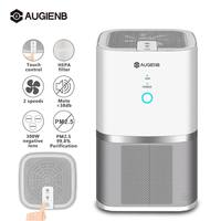 Augienb Air Purifier With HEPA Active Carbon Filter Dust Active Ozone Generator Sterilizer Purifying Air Cleaner For Office Home