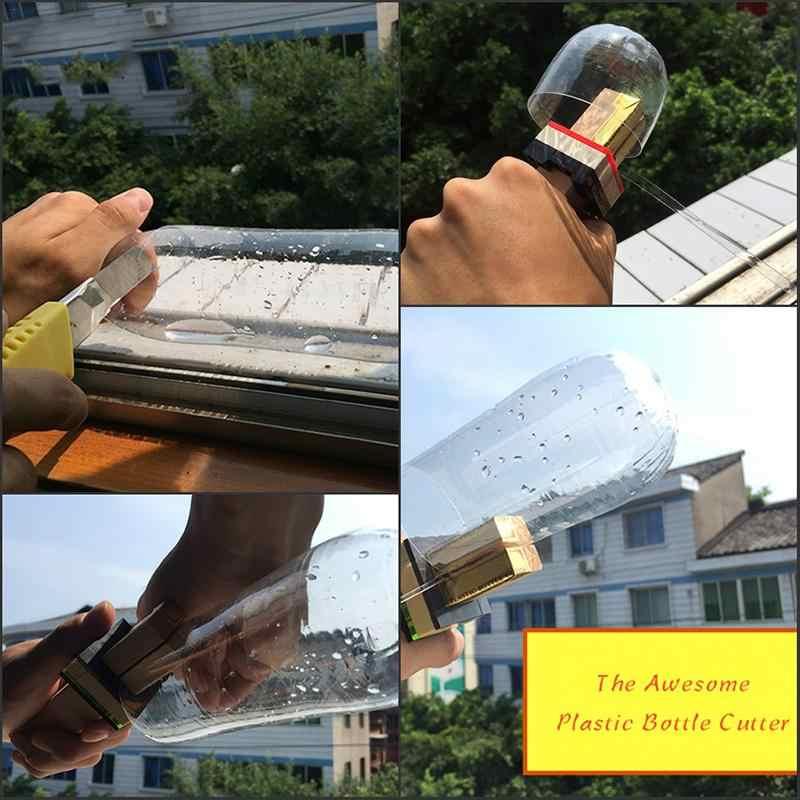 Креативные пластиковые бутылки Резак Открытый Портативный Смарт бутылки веревка инструменты DIY ремесло ручные инструменты резак нож Защита окружающей среды