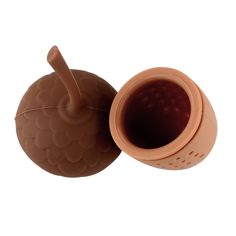 Kitchen Accessories Silicone Tea Infuser Tea Bag Strainer Herbal Filter Gadgets Acorn Shape Islamabad
