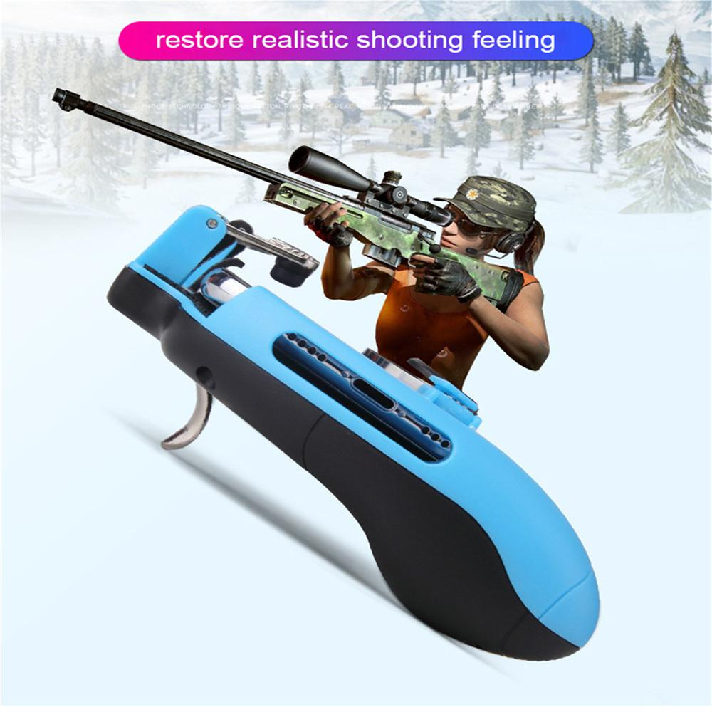 Image 5 - Z8 Mobile Controller Stretchable Gamepad Joystick PUBG Game Fire Button Aim Key L1R1 Shooter Trigger with Phone Holder-in Replacement Parts & Accessories from Consumer Electronics