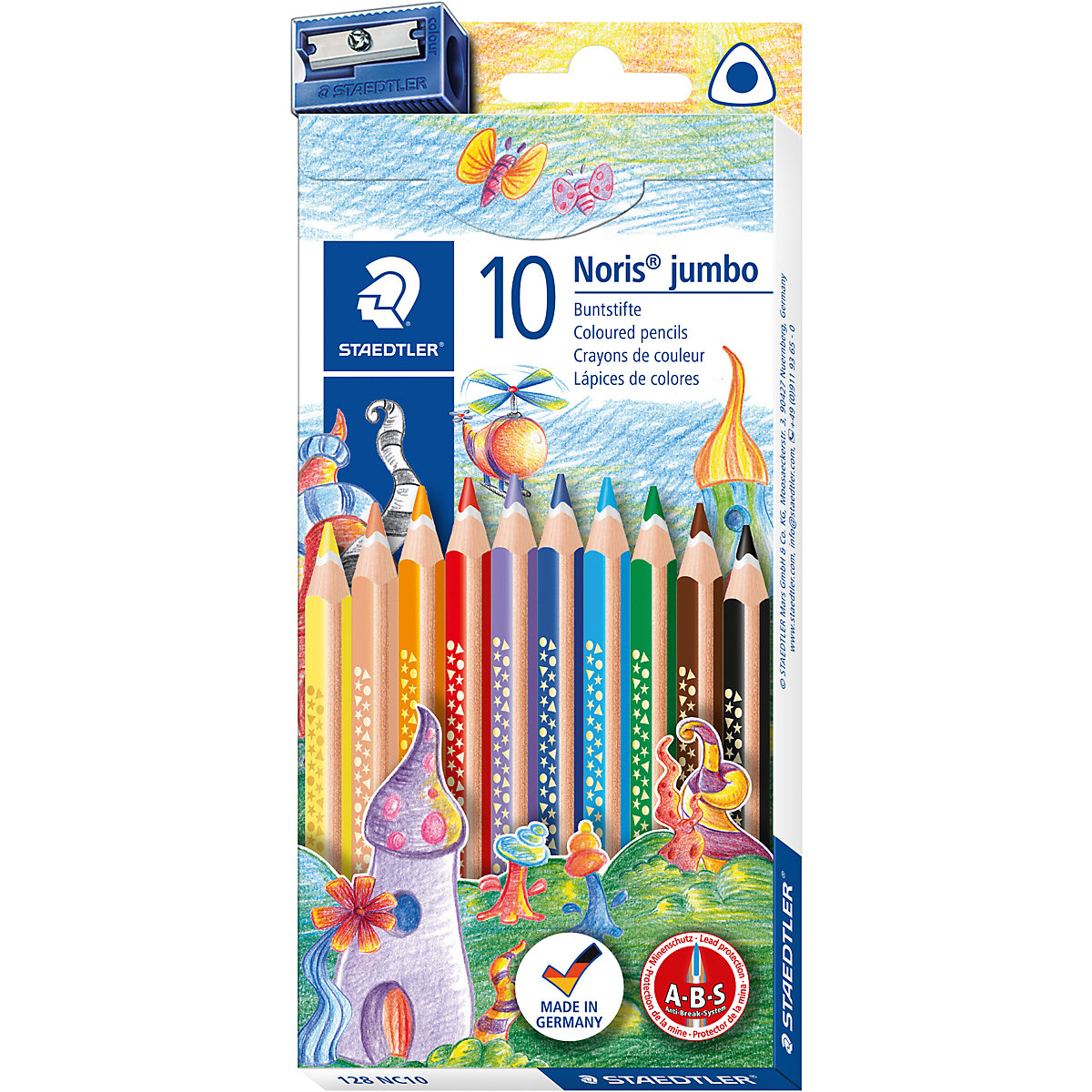 Lápices de colores de madera 2031225 kits creativos lápiz de dibujo MTpromo