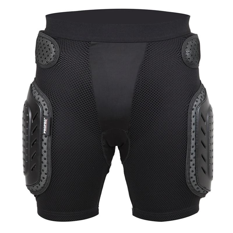 DSGS Propro Black Skateboarding Shorts Anti-Drop Armor Gear Hip Support Protection Sportswear Skating Cycling Skiing Shorts