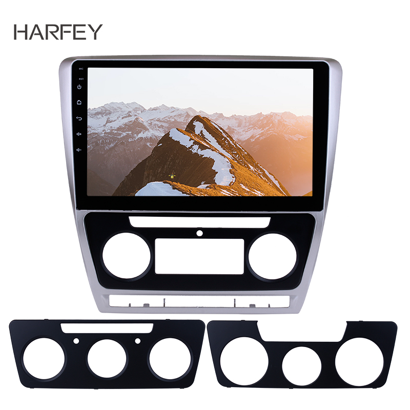 Harfey For 2007 2008 2014 SKODA Octavia 10 1inch Android 8 1 Touch Screen GPS Car