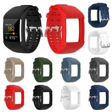 Comfortable Silicone Replacement Watch Band Wrist Strap for Polar M600 Smart Watch Wristband Strap все цены