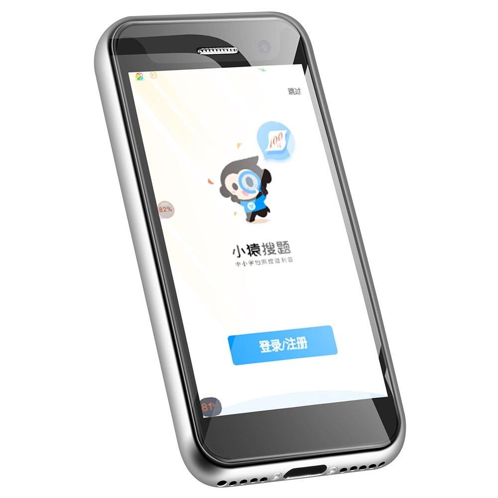 Мини карманный смартфон Melrose S9 Plus, 4G, 2,45 дюймов, Android 7,0, четырехъядерный процессор MTK6737, 1,5 ГГц, 1 ГБ ОЗУ, 8 Гб ПЗУ, Мп + Мп камера - 4