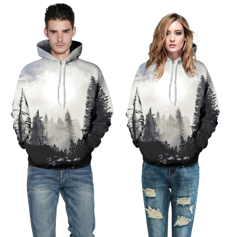 Hoodies & Sweatshirts Monkey Patterns Women Sweatshirt Autumn Hoodies 2017 Sweatshirt Loose Jumper Baseball Tee Tops Blouse Tracksuit G3p9