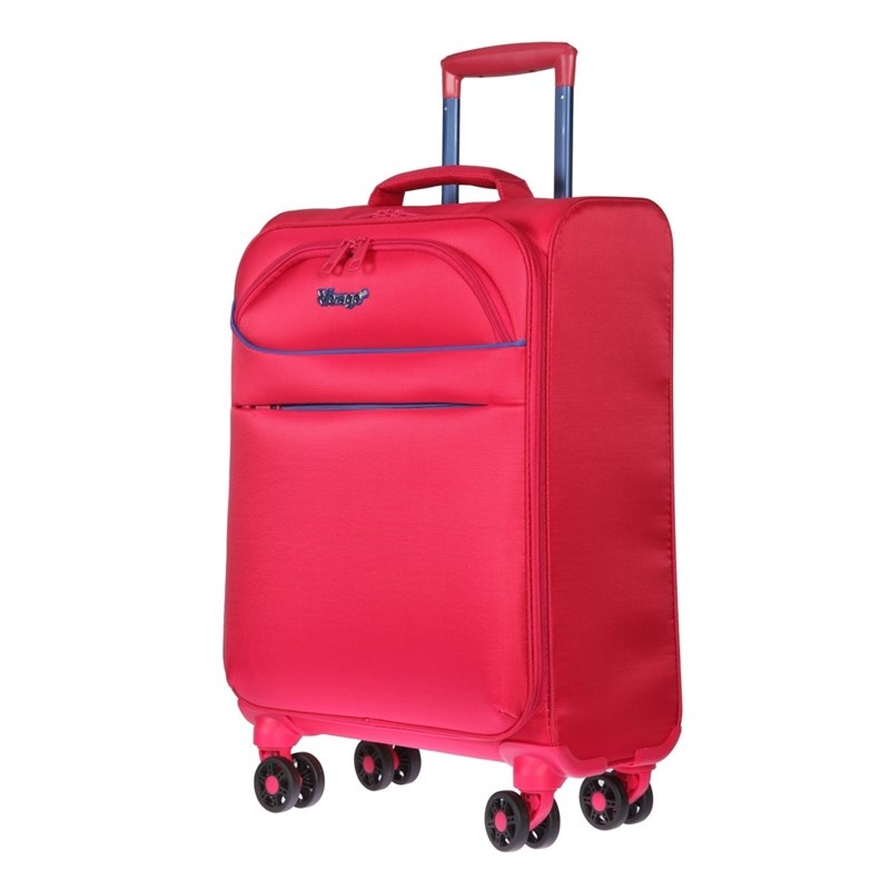 Suitcase-trolley Verage GM17019W18.5 Rose Red
