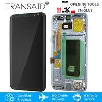 Для Samsung Galaxy s8 экран Замена AMOLED s8 плюс ЖК дисплей