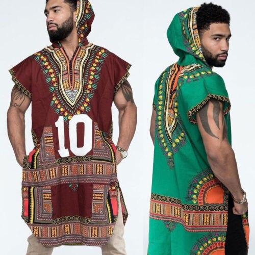 d734ea46ae8 2018 African Tribal Shirt Men Dashiki Print Succinct Hippie Top Blouse Shirts  Clothing S-3Xl Hot