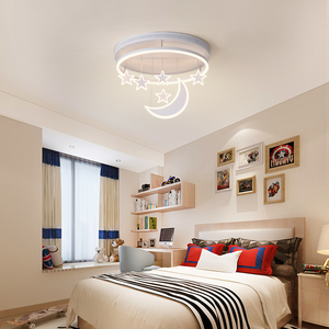 Image 2 - New Ceiling Lights Girl Children Room Bedroom Modern LED Lighting Surface Mount   Remote Control Indoor Lamp Lampara Techo