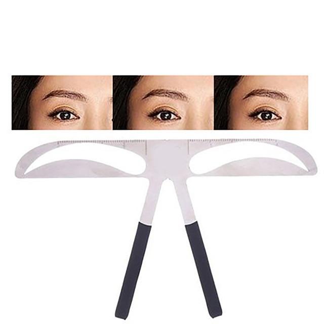 DIY Eyebrow Ruler Makeup Shaping Position Measure Tools Eyebrow Stencils Ruler Beauty Balance Tattoo Stencil Template New