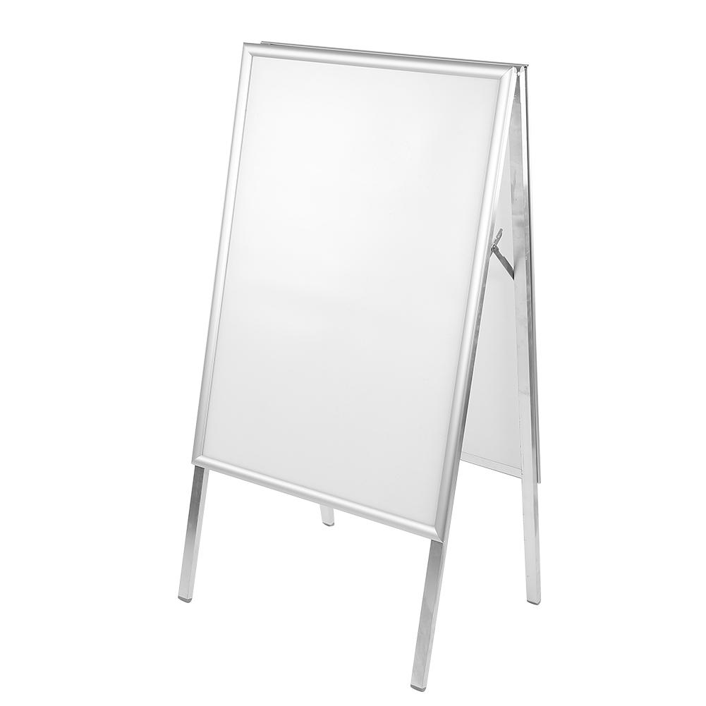 A1 Aluminum Alloy Snap Frame A-Board Pavement Display Double Sided Poster Outdoor Holder Stand New