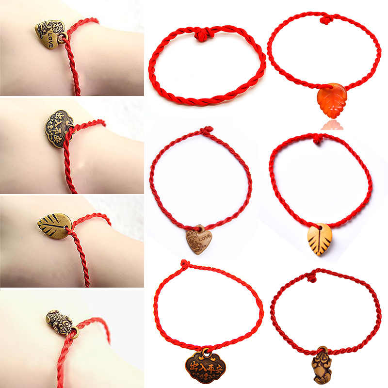 Maple Leaf Hot Sale 1PC 3Patterns Unisex Braclets Fashion Jewelry Top Grade Red Trendy