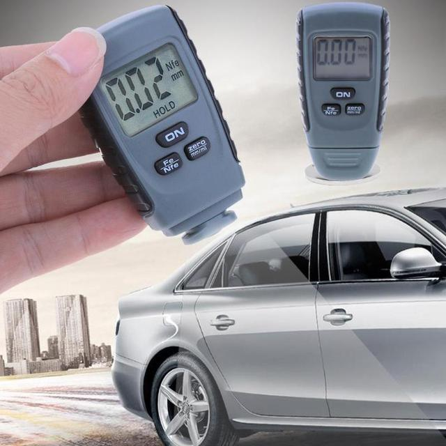RM660 Digital Coating Thickness Gauge Paint Coating Thickness Meter Paint Thickness feeler Tester Fe/NFe 0-1.25mm for Car 2019