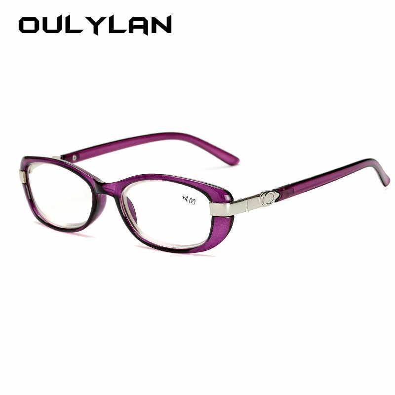 Oulylan мужские бизнес очки для чтения винтажные прозрачные линзы для женщин и мужчин очки для дальнозоркости для чтения диоптрий + 1,0 1,5 2,0 2,5 3,0