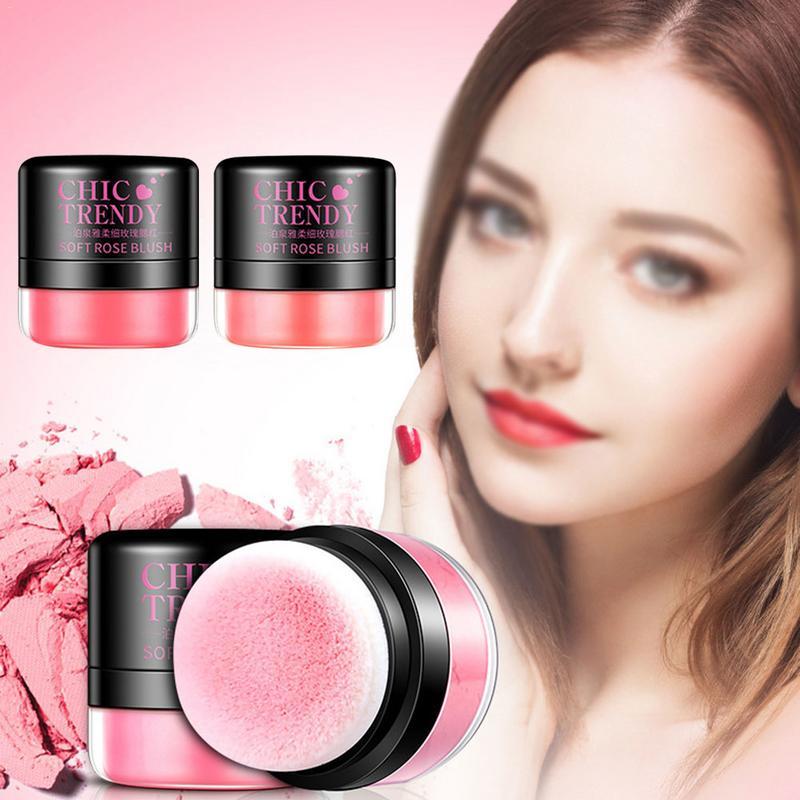 Blush Lasting Repairing Rouge Natural Moisturizing Light Easy To Color Blush Makeup