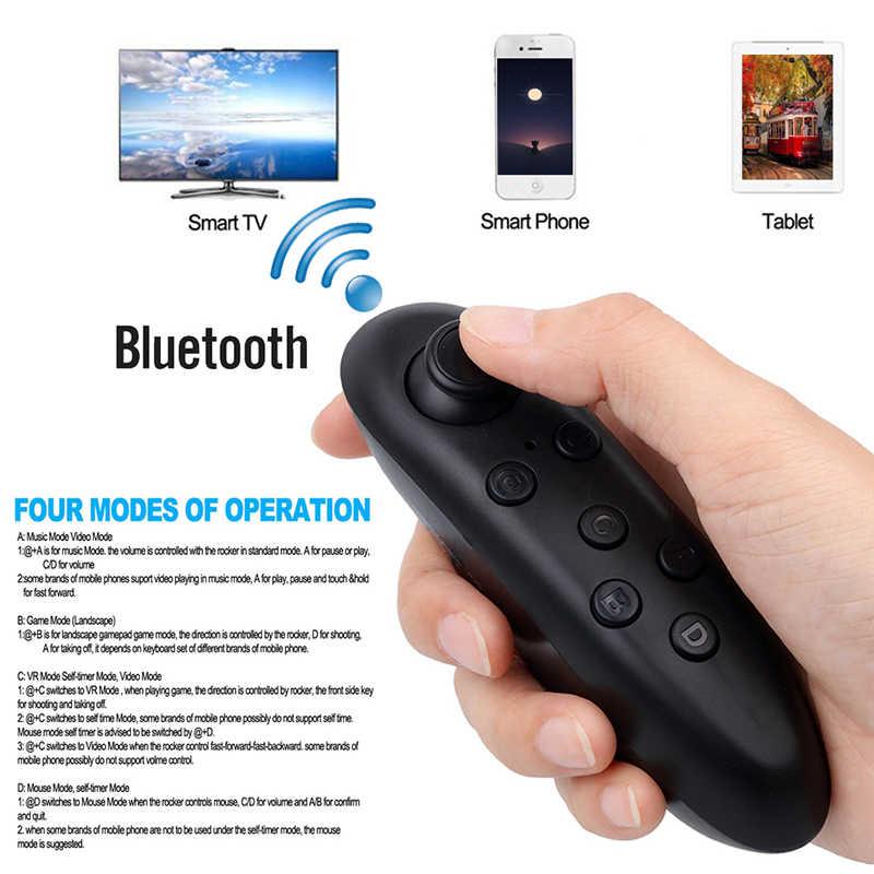 KEBIDU Новый беспроводной Bluetooth пульт дистанционного управления Лер геймпад обновление для Android джойстик игровой коврик управление для 3D очки VR коробка