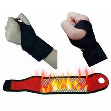 1Pcs Self-heating Wrist Support Brace Guard Protector Men Winter Keep Warm Band Sports