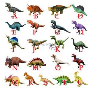 Image 2 - 21 estilos de ação & brinquedo figuras modelo brachiosaurus plesiossauro tiranossauro dragão dinossauro coleção animais modelo brinquedos