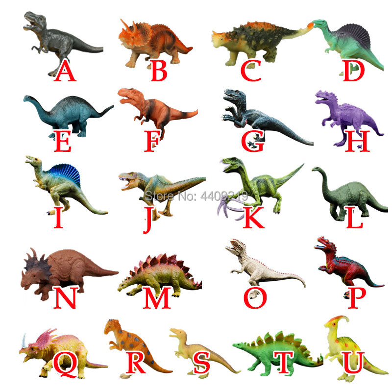 Image 2 - 21Styles Action&Toy Figures Model Brachiosaurus Plesiosaur Tyrannosaurus Dragon Dinosaur Collection Animal Collection Model Toys-in Action & Toy Figures from Toys & Hobbies